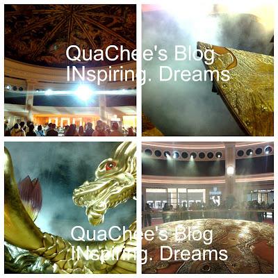 wynn hotel dragon show