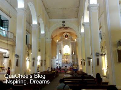 st dominics church inside