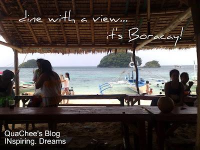 boracay island hopping lunchbreak