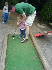 Putting with Daddy