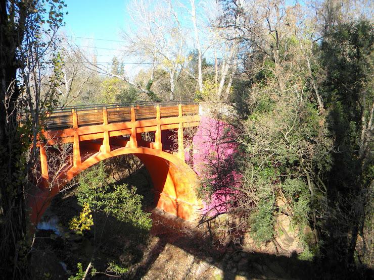 Pintoresco puente en El Durazno, San Luis