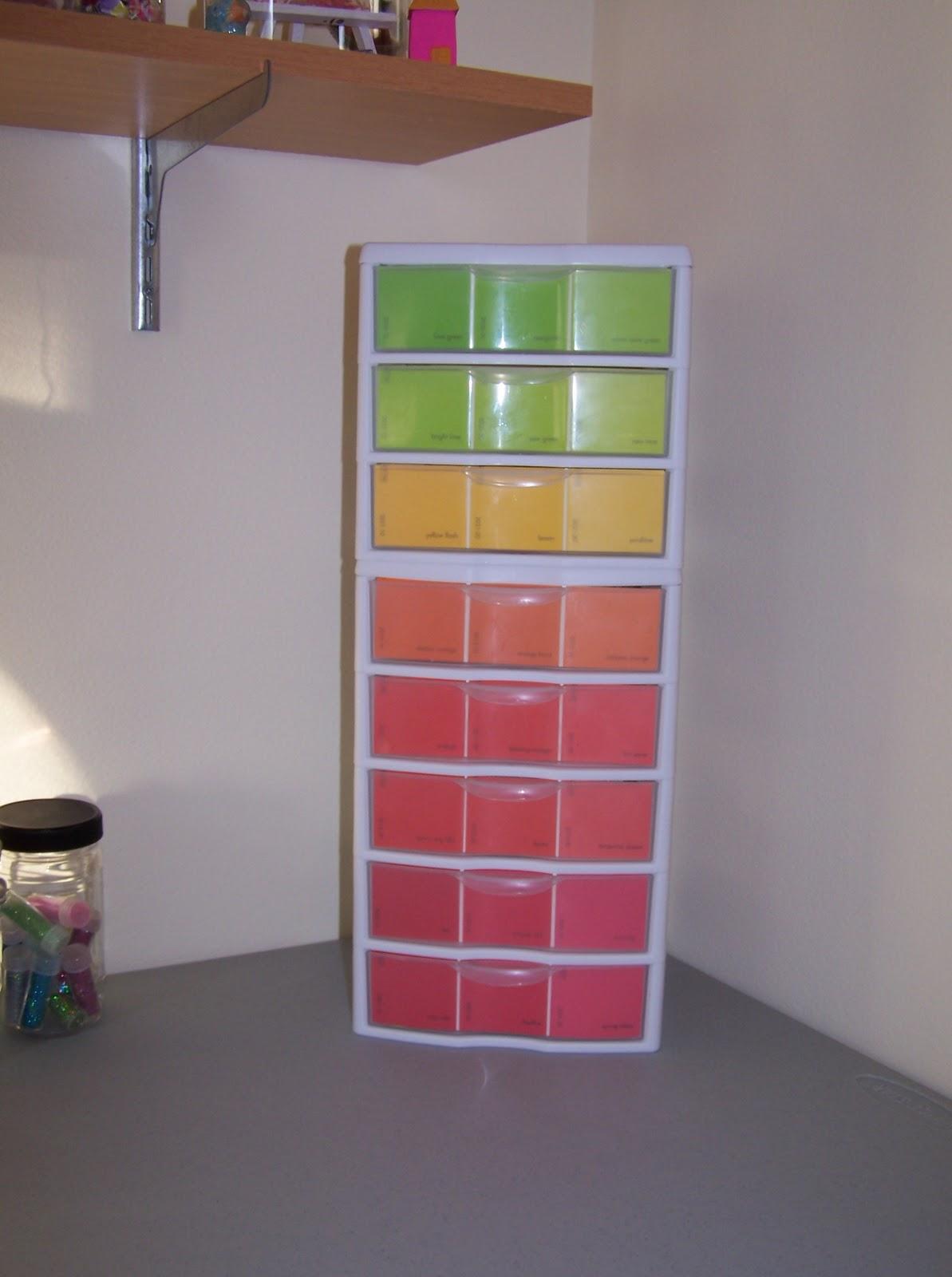 My Little Craft Room Paint Sample Ideas