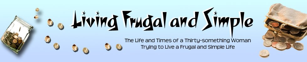 Living Frugal and Simple