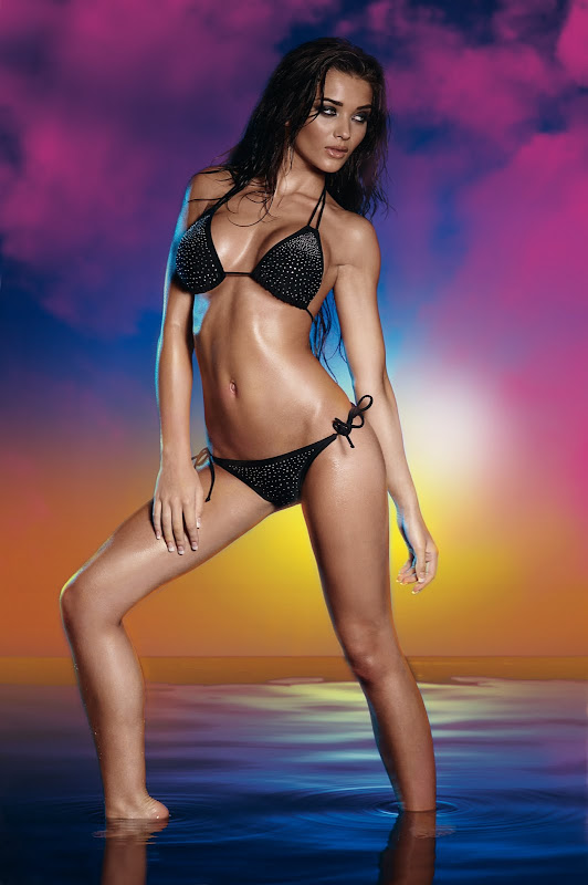 Amy Jackson Hot in Bikini unseen pics