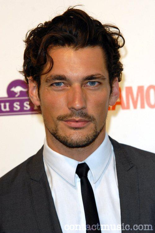 david gandy model. mar Is british model david