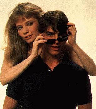 Rebecca De Mornay Tom Cruise Risky Business Glasses