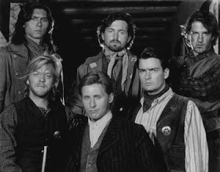 Cast of Young Guns picture