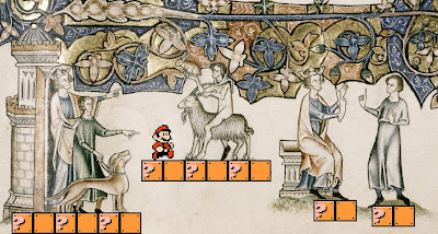 Mario and Medieval Manuscripts