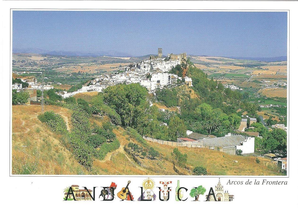 Arcos De La Frontera Spain  city photos : Plethora of Postcards: Arcos de la Frontera, Spain