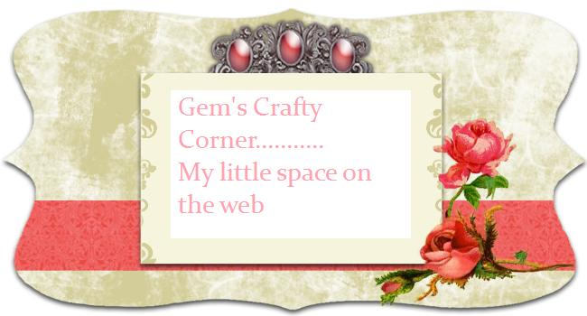 Gem's crafty corner