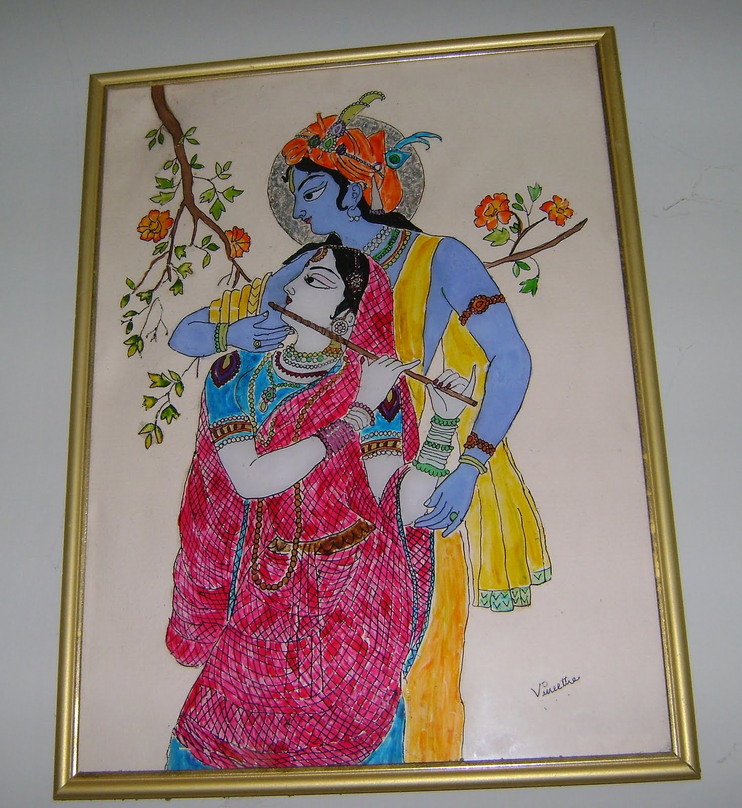 Ruchi glass painting for How do i paint glass