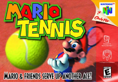 Super Mario : Sport Game Tennis with Emulator