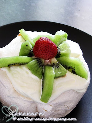 Cooking for hope : ~~pavlova~~