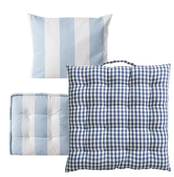 lilla lykke bl og hvit sommer fra hlens og ikea. Black Bedroom Furniture Sets. Home Design Ideas