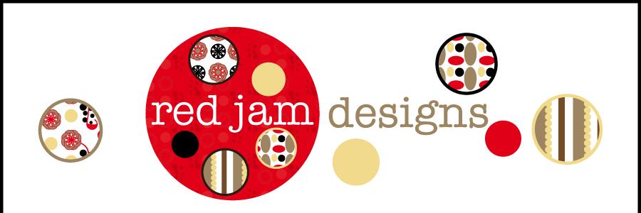 red jam designs