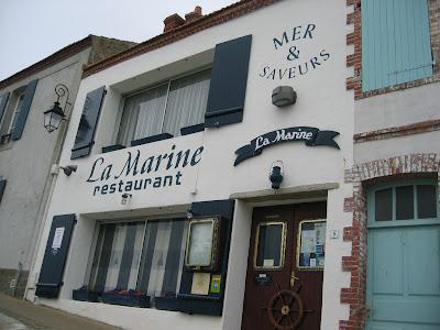 Vend e photos restaurant la marine noirmoutier - La maison de marine noirmoutier ...