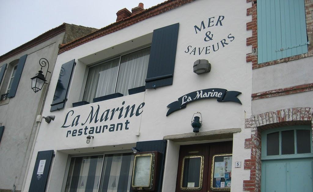 Vend e photos restaurant la marine noirmoutier - Restaurant la marine noirmoutier ...