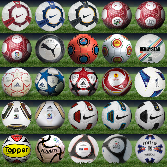 Pes 2010 Demo: Pes 2010 Ballpack By NazGul04 [req By INTERBOYS] V2