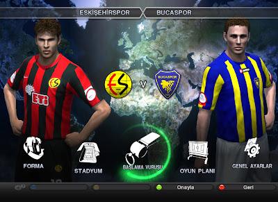 Pro Evolution Soccer 2012 TSL Yamasi (Spor Toto Super Lig Yaması)