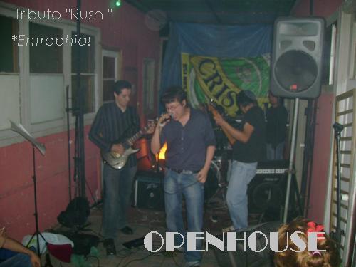 TRIBUTO A RUSH con ENTROPHIA  NOV ' 07