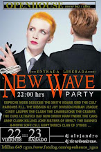 NEW WAVE!! 80's PARTY:::viernes22/ sabado23/ desde 22hrs::: entrda libre