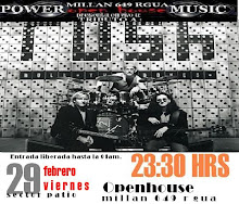 "MUSICA EN VIVO!  TRIBUTO  A ""RUSH"" 23:30 HRS./en el sector patio del Open!"