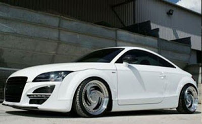 Flush  Audi TT2S with Full Carbonfiber Body Kit 2