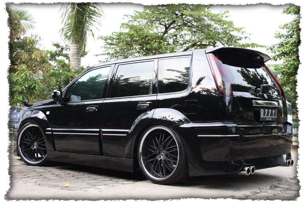 BLACK - X-Trail Great Modification Car By x-fab