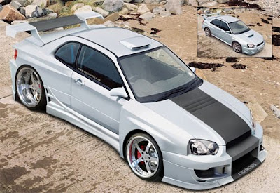 Subaru Impreza WRX Modification