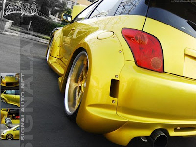 scion xa wallpapers. Toyota Scion Xa with Custom Candy Yellow Paint. Posted by sport at 11:48 AM
