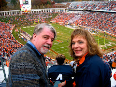Larry and Dena in Charlottesville