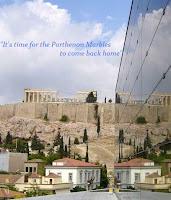 Es ist Zeit für die Rückgabe der fehlenden Teile ( sind im Britischen Museum) des Parthenon-Fries