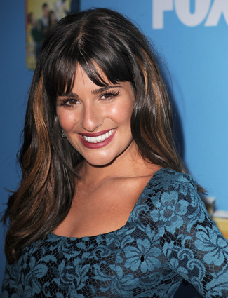 Just like Lea Michele below who looks fantastic in this colour, ...