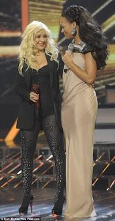Christina and Rebecca xfactor final