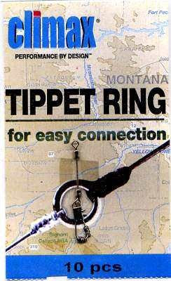 Fly fishing traditions techniques tippet rings for leaders for Tippet fly fishing