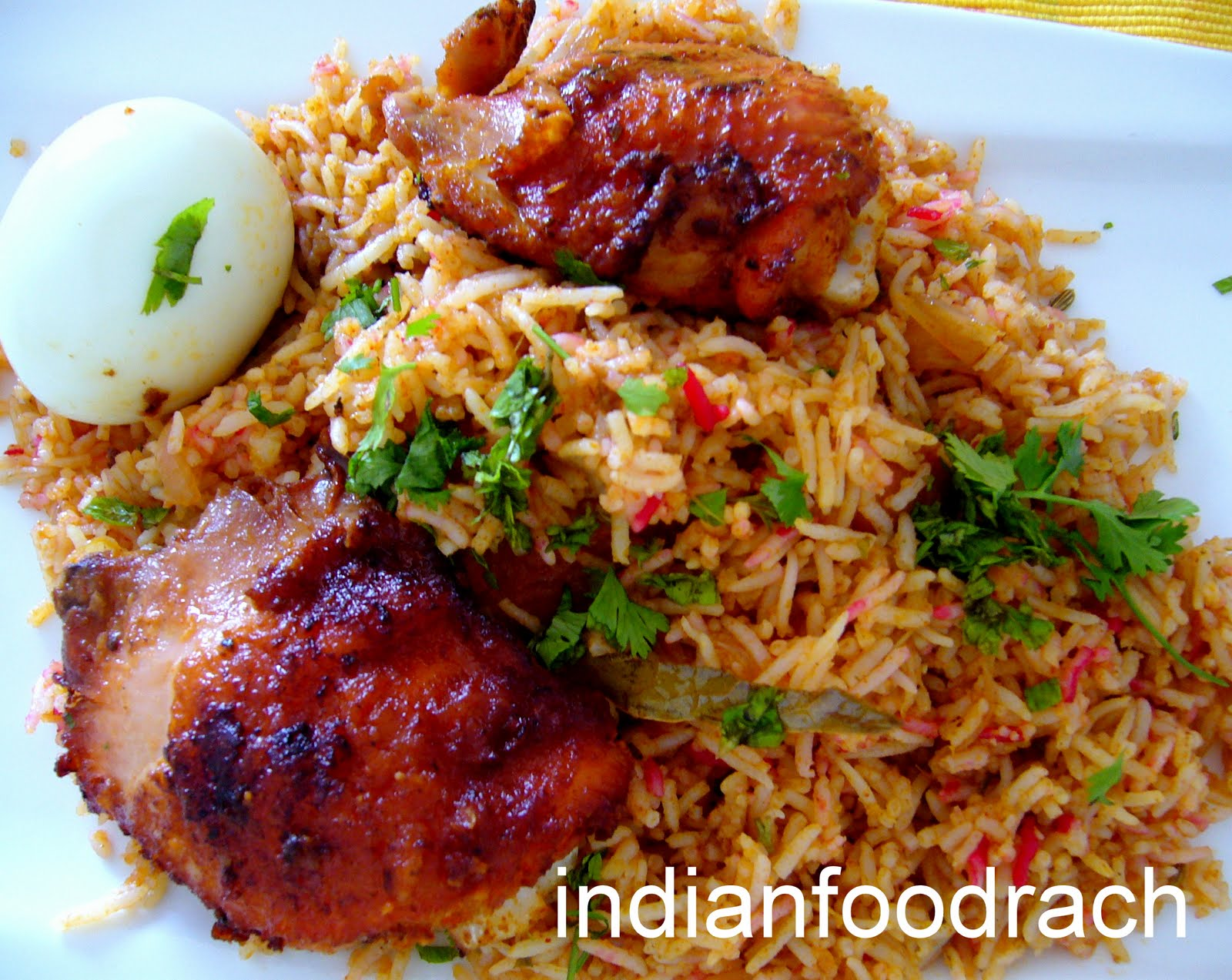 Indian food fried chicken biryani fried chicken biryani forumfinder Image collections