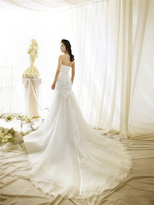 Slim Wedding Dress