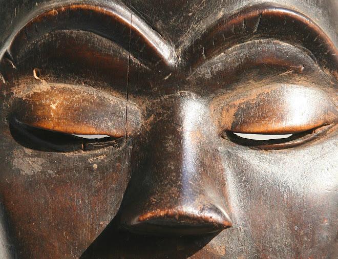 Masque Dan de Cote d'Ivoire