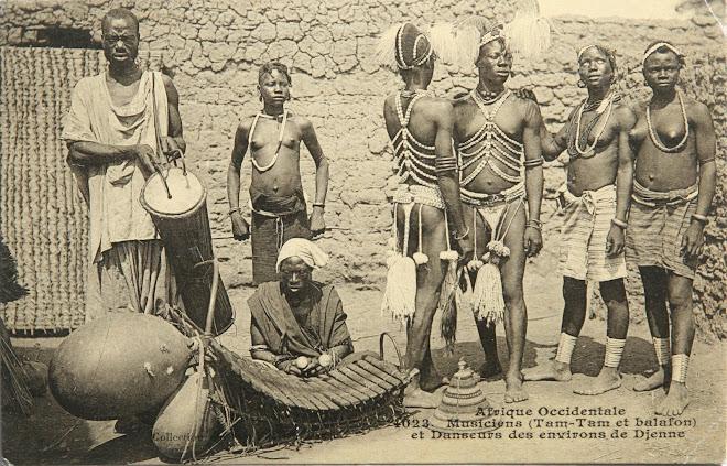 Carte postale ancienne mali
