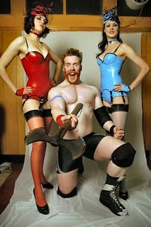 The Stalker Game! - Page 21 Sheamus+%26+glamazon+Luchadoras+by+Dazza+07