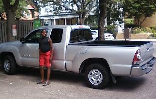 Zipcar pickup truck