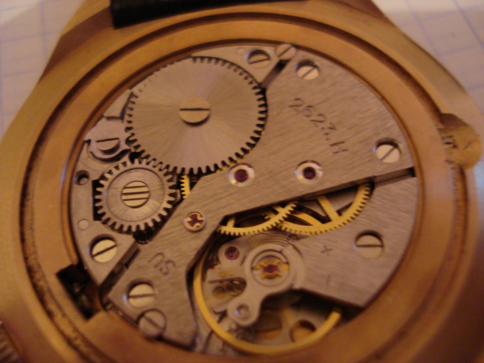 Чистка и смазка наручных часов своими руками 44