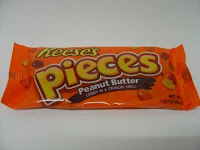 Reese's Pieces, available to buy online from www.moolollybar.com.au