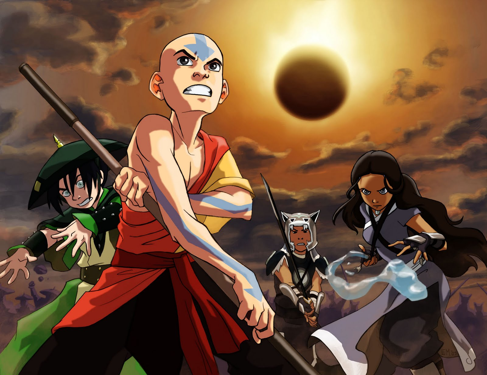 Avatar the last airbender season 4