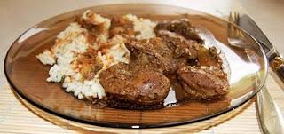 Articole culinare : Ficăţei de pui cu ceapă
