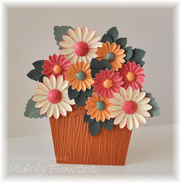 kartka-kwiaty w doniczce