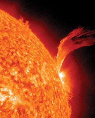 tormenta solar septiembre 2010