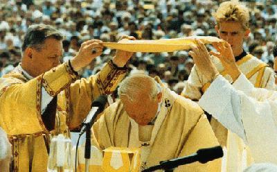 Beato Papa Juan Pablo II Credo Rito Bizantino
