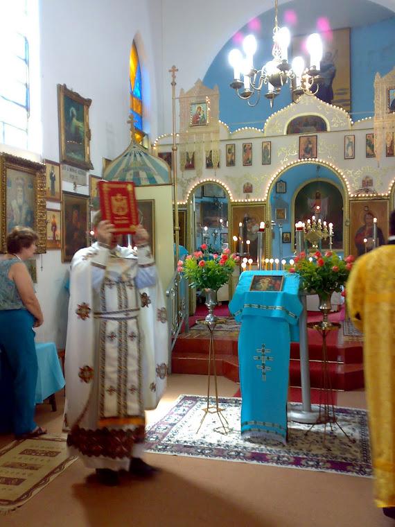 Bendicion con el Santo Evangelio