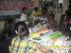 Medical Mission on March 1 to 3 2010 by Health Alliance for Democracy, Sagip-Isla and Umalpas Ka
